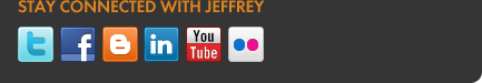 Stay connected with Jeffrey